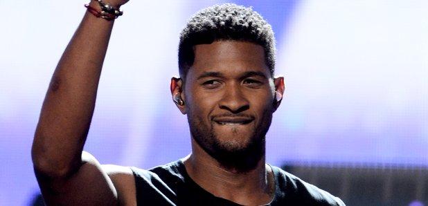 Usher at the 2012 BET Awards