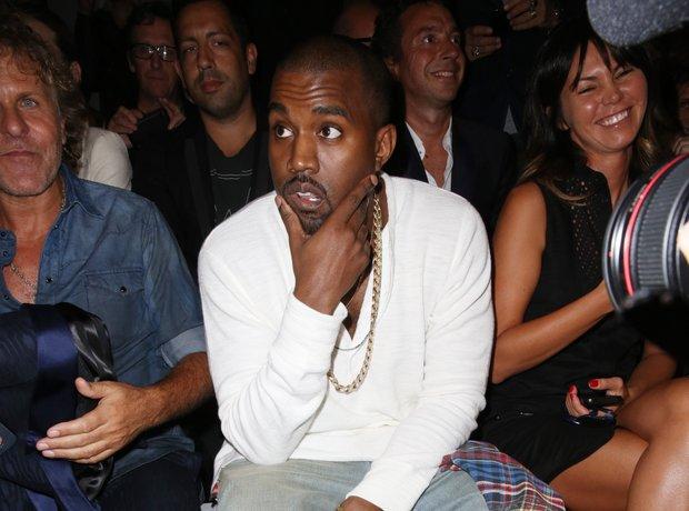 Kanye West Fashion Week 2013