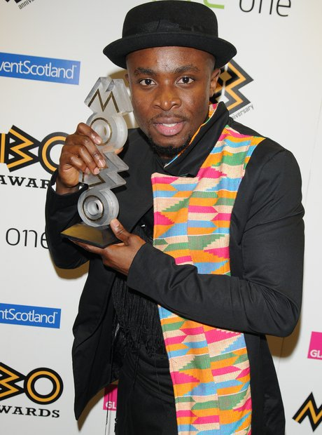 Fuse ODG backstage at Mobo Awards 2013