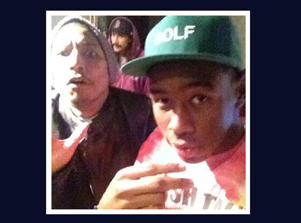 Pharrell Williams and Tyler the Creator