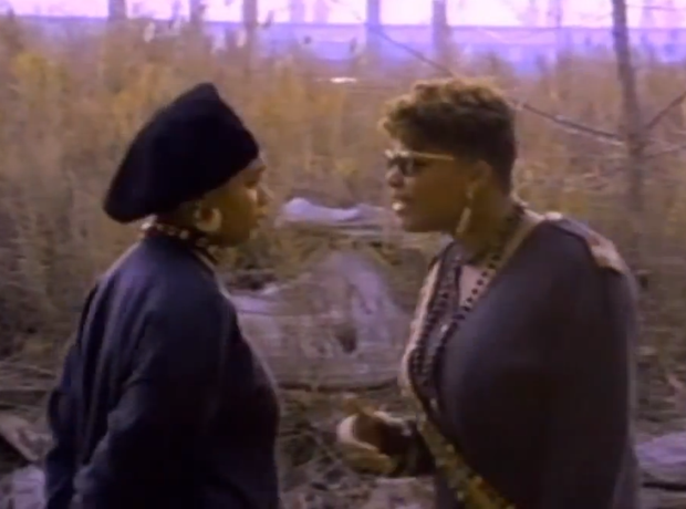 Monie Love and Queen Latifah - Ladies FirstQueen Latifah Ladies First