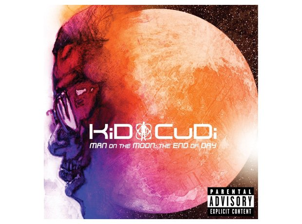 Kid Cudi, 'Man On The Moon: The End Of The Day' album cover artwork