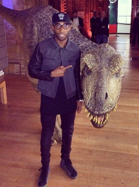Tinie Tempah And Dinosaur