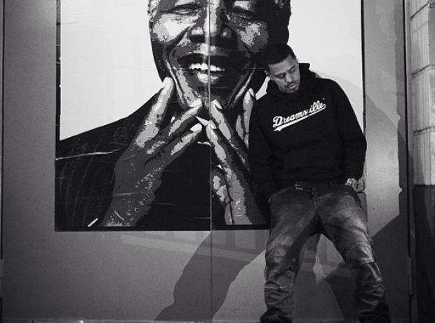 J Cole Nelson Mandela