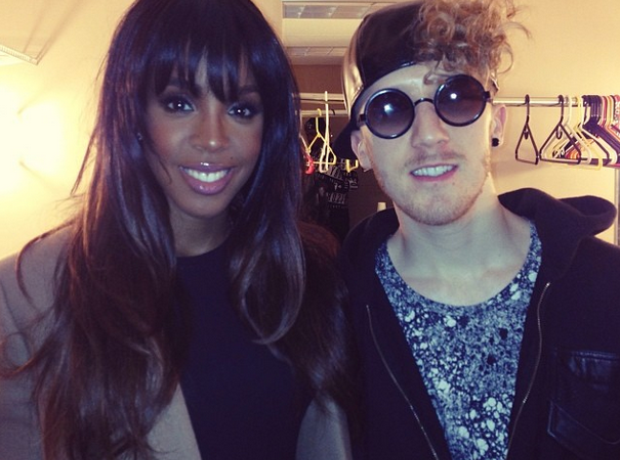 Kelly Rowland and Daley