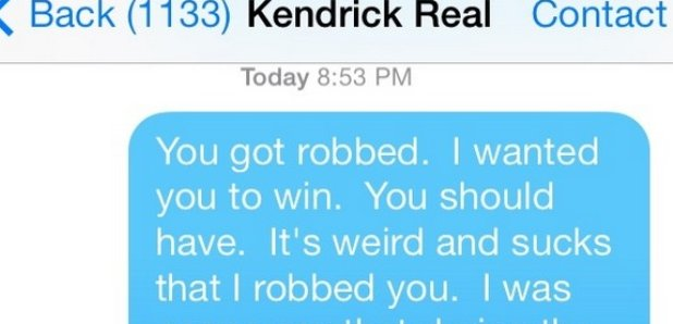 Macklemore Text MEssage