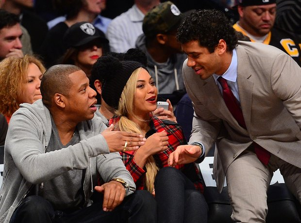 Jay Z, Beyonce and Seattle Seahawks  Basketball