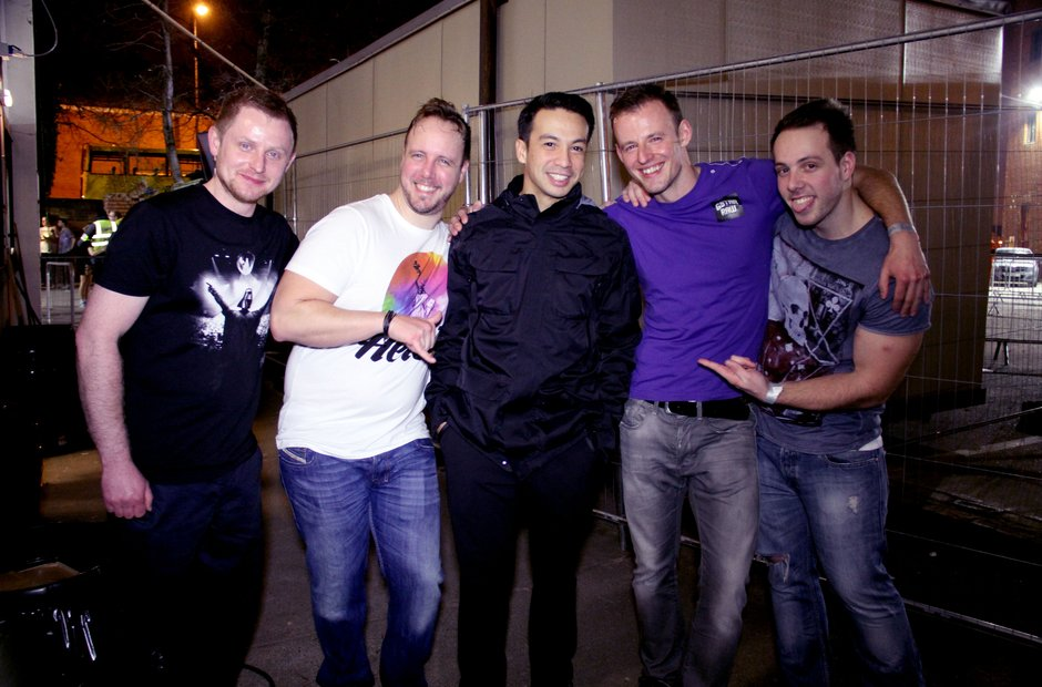 Laidback Luke With Competition Winners