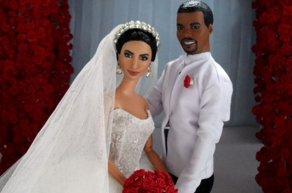 Kim and Kanye Barbies