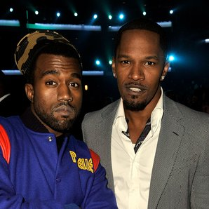 Jamie Foxx And Kanye West