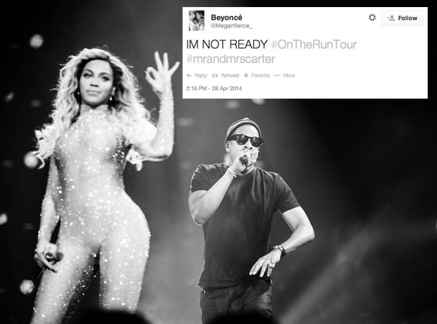 On The Run Twitter Reactions