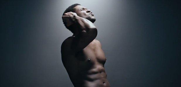Usher topless in 'Good Kisser' video