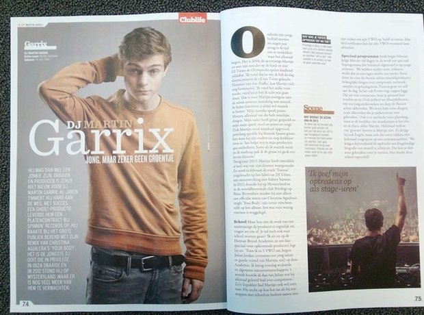 Martin Garrix magazine