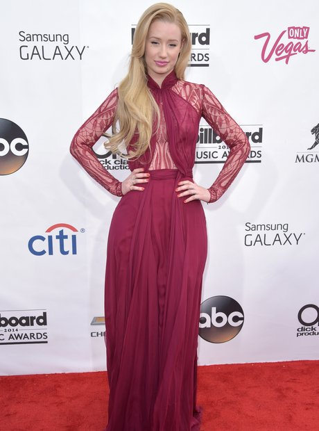 Iggy Azalea arrives at the Billboard Music Awards