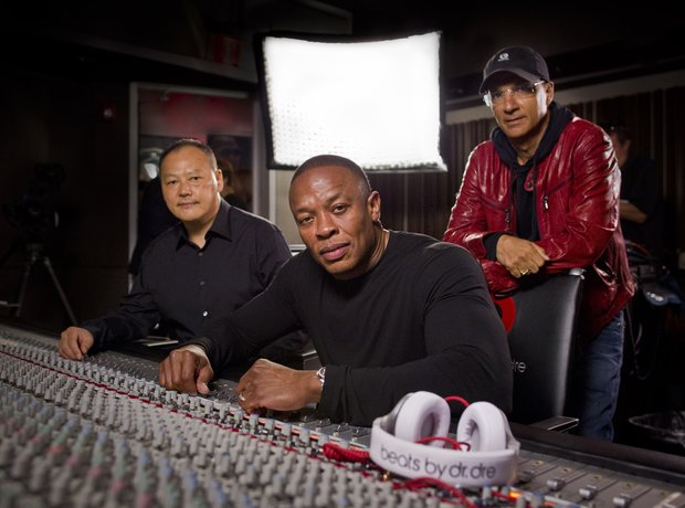 Peter Chou, Dr. Dre and Jimmy Iovine