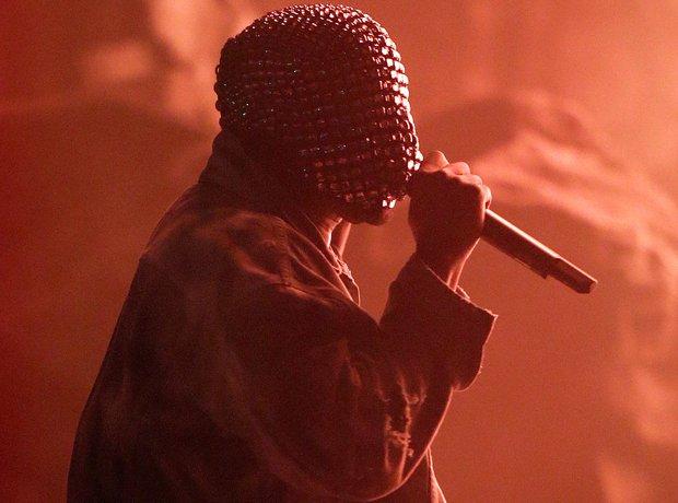 Kanye West Yeezus mask