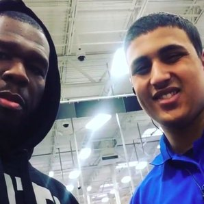 50 Cent At Best Buy