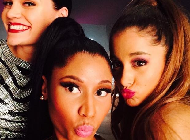 Nicki Minaj Jessie J Ariana Grande