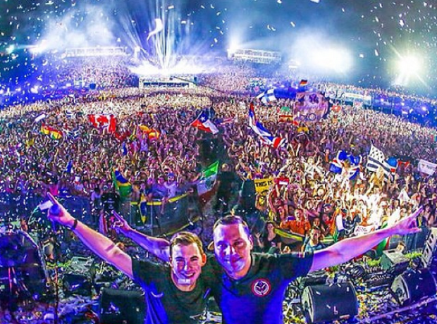 Tiesto Hardwell Tomorrowland