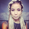 Image 5: Jhene Aiko blonde dreadlocks
