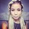 Image 5: Jhene Aiko blonde dreadlocks