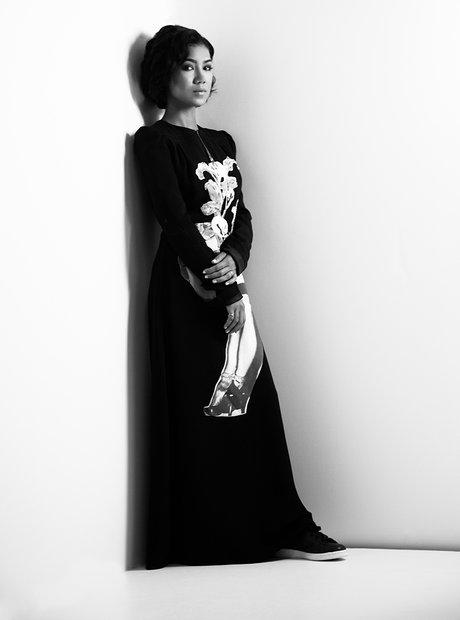 Jhene Aiko features in Elle.com