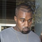 Kanye West reveals new hair shave design