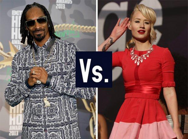 Snoop Dogg vs Iggy Azalea hip hop feuds