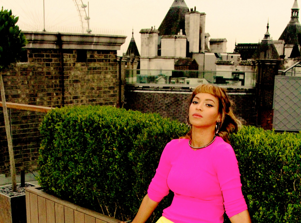 Beyonce in London