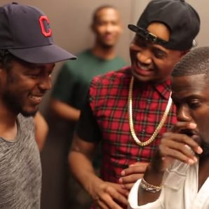 Kevin Hart And Kendrick Lamar freestyle