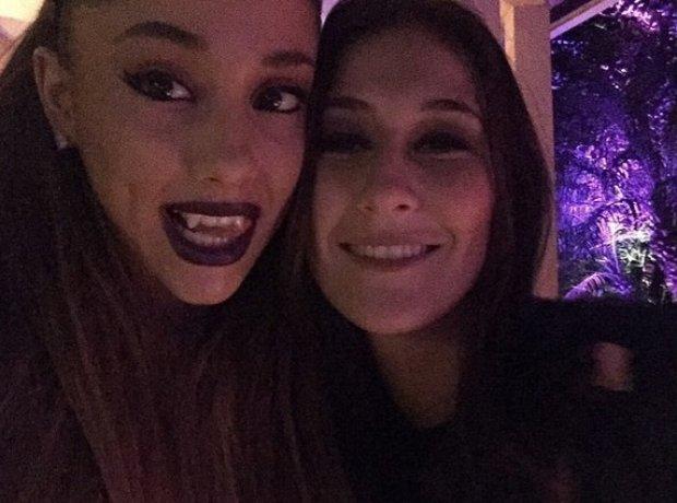Ariana Grande At Halloween