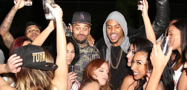 Chris Brown Celebrates Trey Songz 30th Birthday