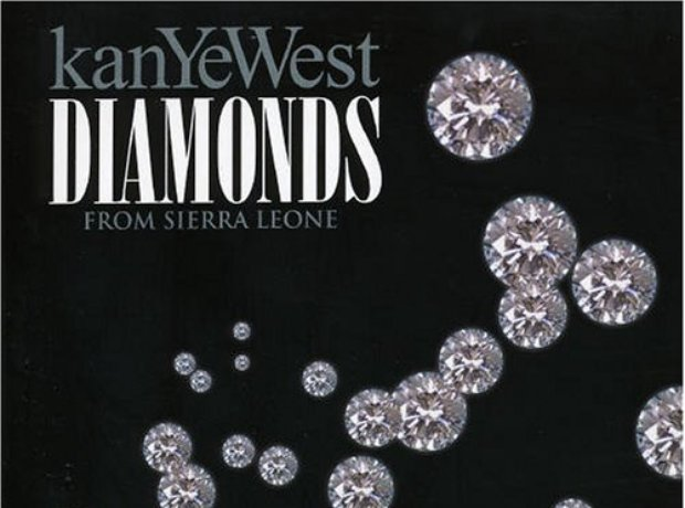 Kanye West - 'Diamonds From Sierra Leone' artwork