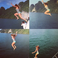 Image 3: Beyonce Jumping Off Boat