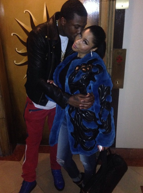 Nicki Minaj and Meek Mill Instagram