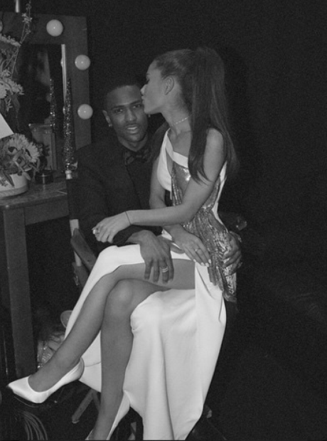 Ariana Grande Big Sean Grammys 2015