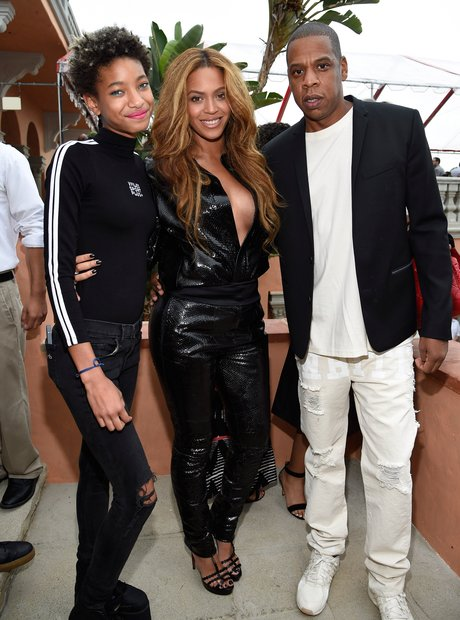 Willow Smith, Beyonce and Jay Z