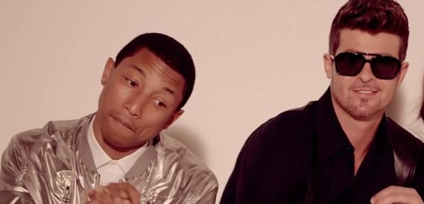 Robin Thicke Pharrell