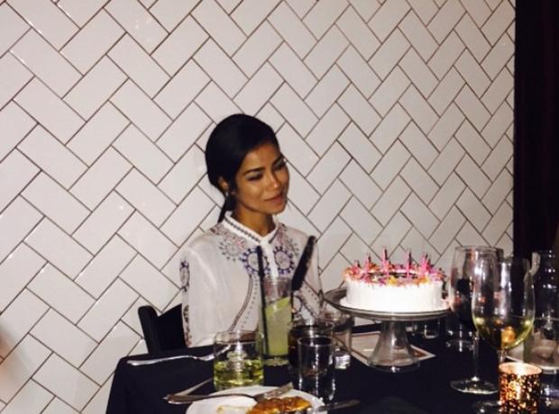Jhené Aiko birthday cake