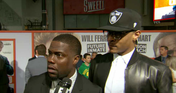 Kevin Hart and T.I