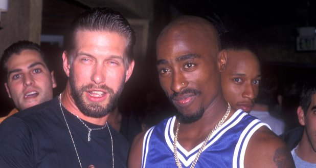 Stephen Baldwin and Tupac Shakur