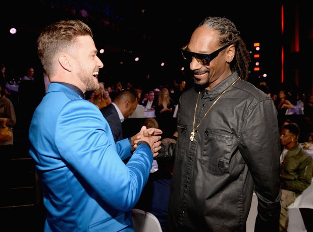 Justin Timberlake and Snoop Dog