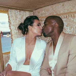 Kanye West Kim Kardashian