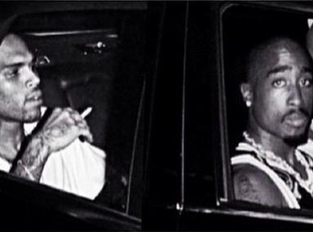 chris brown 2pac