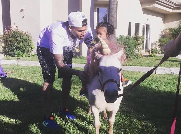 Chris Brown Royalty Pony