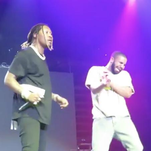 Future And Drake At Hot 107.9