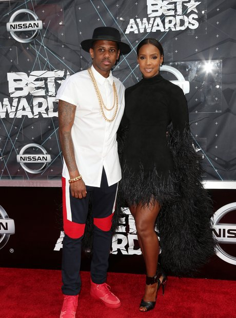 Fabolos and Kelly Rowland BET Awards Red Carpet 20