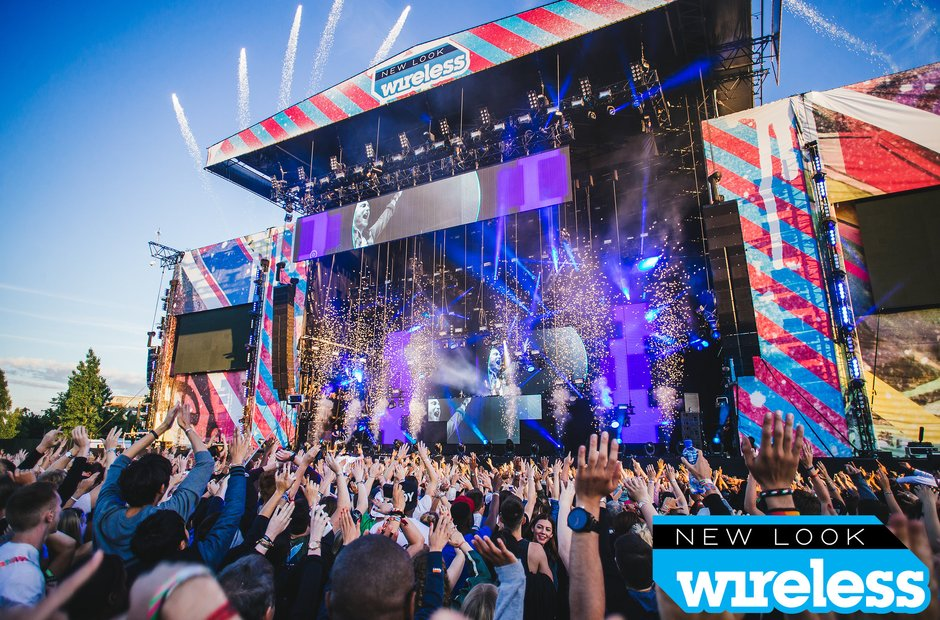David Guetta Wireless Festival 2015
