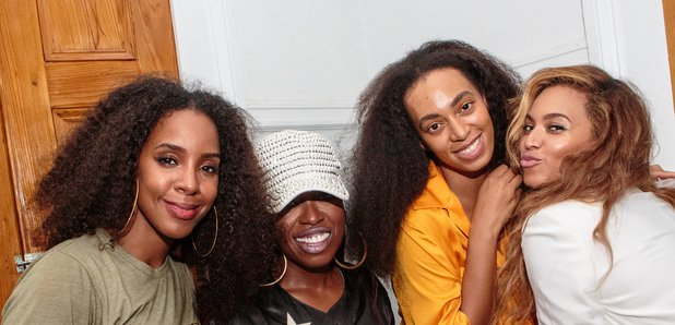 Kelly Rowland, Missy Elliot, Solange Knowles and B
