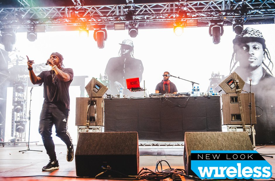 Pusha T Wireless Festival 2015